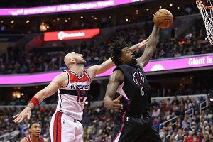 NBA. Harówka Marcina Gortata z LA Clippers. Wizards na fali wznoszącej