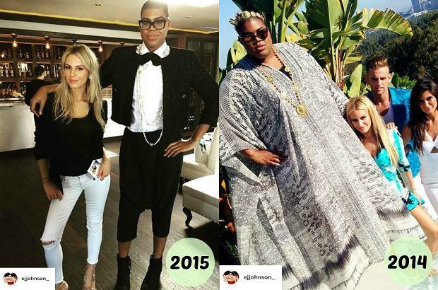 Zdjęcie numer 5 w galerii - Syn znanego koszykarza schudł 89 kg! Wymienił garderobę. Kozaki stały się jeszcze wyższe, a sukienki (!) jeszcze krótsze