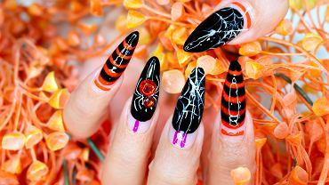 Paznokcie na Halloween powinny być dopasowane do stroju. Zdjęcie ilustracyjne