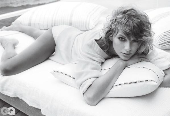 Zdjęcie numer 4 w galerii - Taylor Swift pozuje dla magazynu GQ