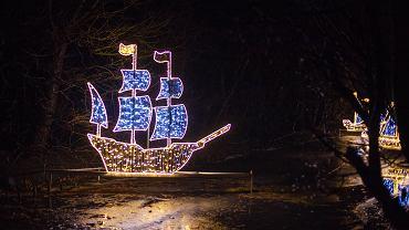 Iluminacja świąteczna w Gdańsku