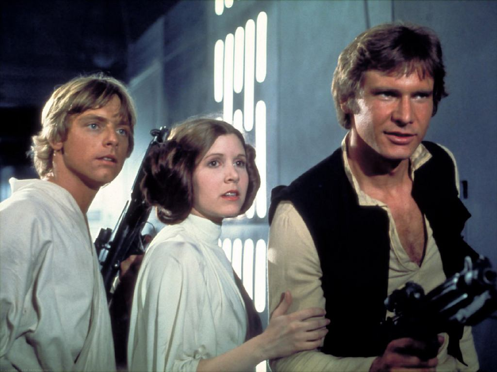 Kadr z filmu 'Gwiezdne wojny