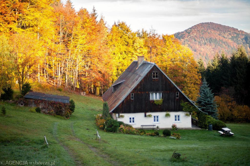 Jesień w Sudetach, Masyw Śnieżka