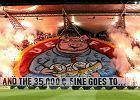 UEFA znowu ukarała Legię. 50 tys. euro grzywny i zamknięta trybuna