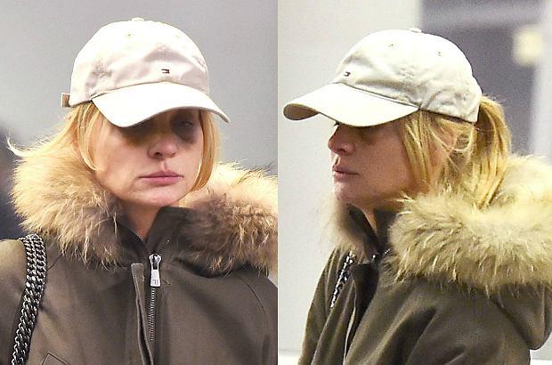 Zdjęcie numer 0 w galerii - Aneta Kręglicka na lotnisku starała się ukryć sińce pod oczami. Jej wygląd może zaniepokoić