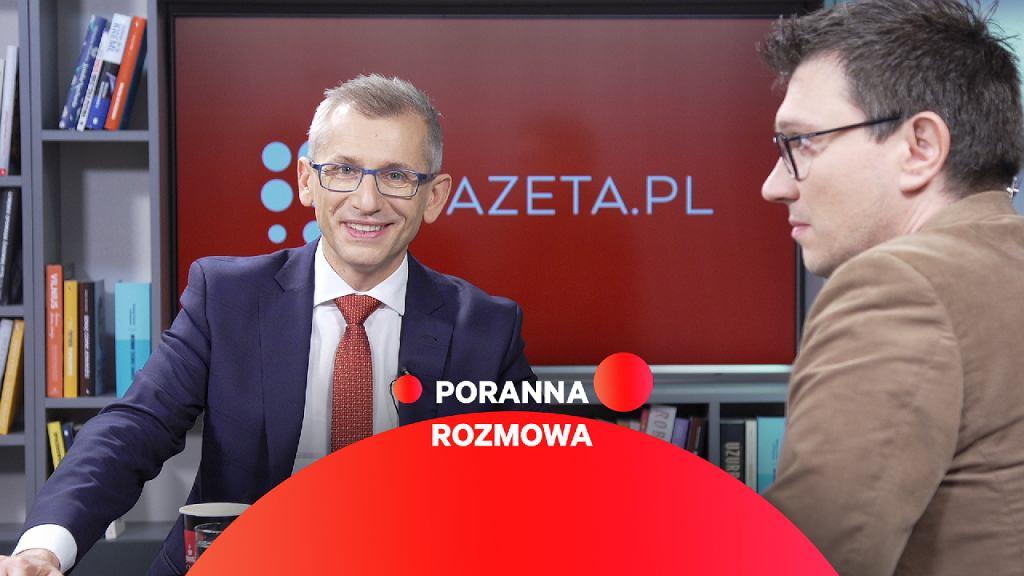 Krzysztof Kwiatkowski w Porannej Rozmowie Gazeta.pl