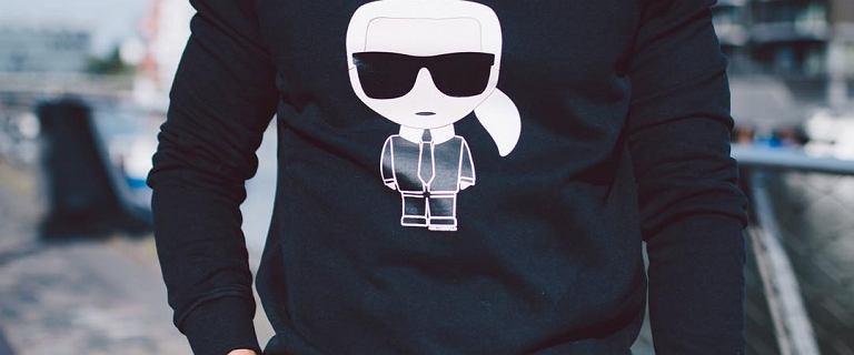 Ubrania Karl Lagerfeld z rabatem do 75%! Ponadczasowy design dla mężczyzn