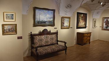 Gabinet obrazów w Muzeum w Tarnowskich Górach
