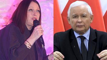 Katarzyna Nosowska, Jarosław Kaczyński
