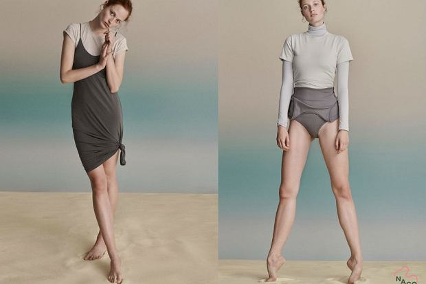 W kampanii promującej pierwszą kolekcję NAGO Store wystąpiła Julia Banaś