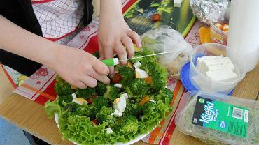 Szkolne warsztaty zdrowego żywienia zorganizowane przez Szkołę Podstawową nr 31 w Częstochowie
