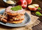 Waniliowe placki zjabłkami nakefirze