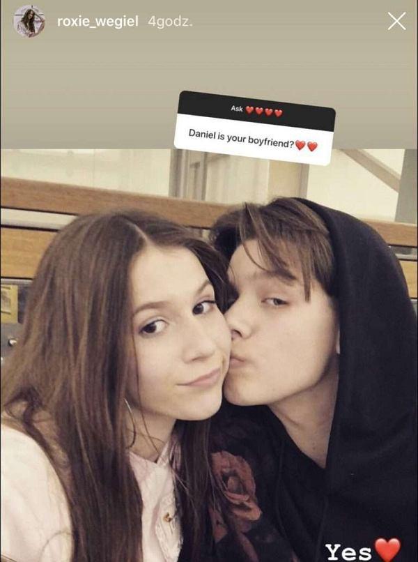 Roksana Węgiel i Daniel Yastremski
