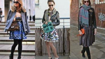 Od lewej: blogerka Katarzyna Tusk oraz autorki tekstu: Paulina i Ola w stylu nowojorskim.