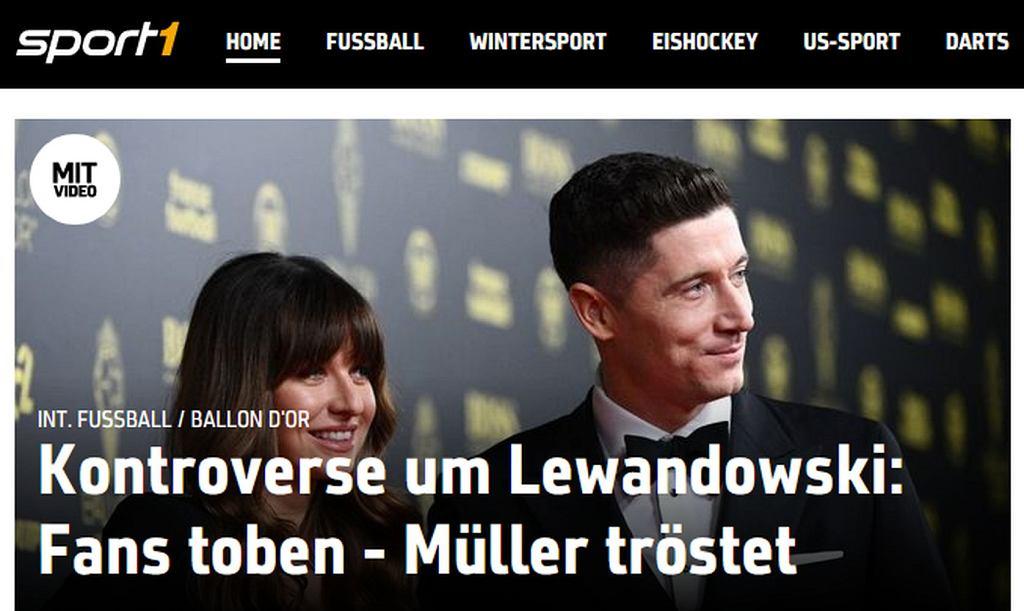 Niemcy piszą o kontrowersyjnym miejscu Lewandowskiego