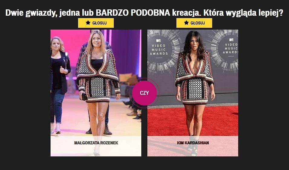 Rozenek czy Kardashian?