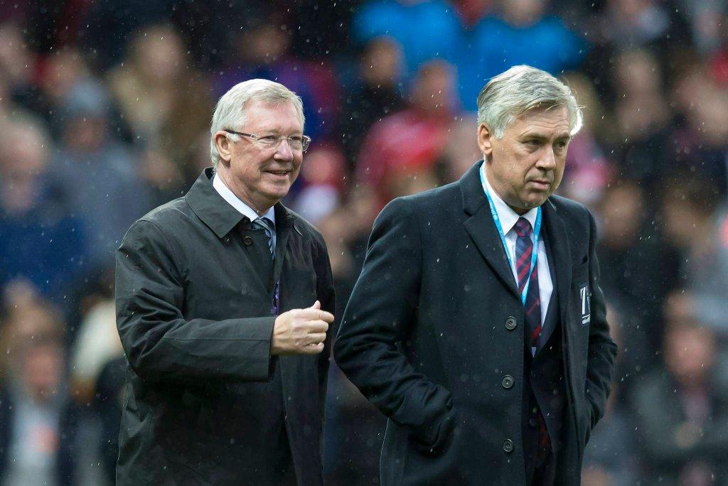 Sir Alex Ferguson i Carlo Ancelotti
