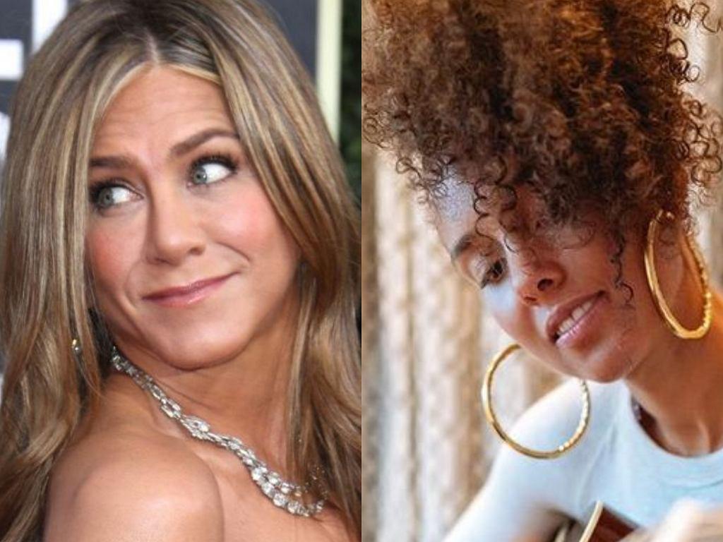 Jennifer Aniston, Alicia Keys