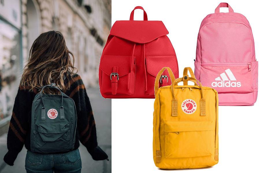 Plecaki damskie na co dzień i do szkoły