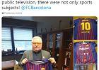 Polski laureat Nobla nowym fanem FC Barcelony. Lech Wałęsa otrzymał koszulkę z numerem Messiego [ZDJĘCIA]