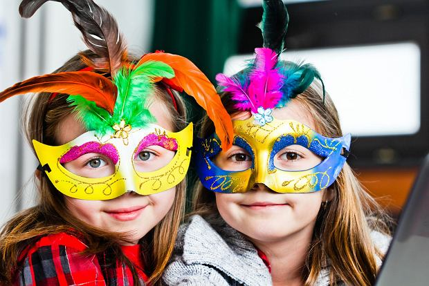 Maska karnawałowa dla dziecka - szablon. Zrób maskę ze swoim dzieckiem, to świetna zabawa