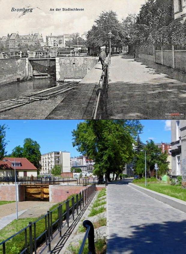 Zdjęcie numer 10 w galerii - Bydgoszcz wczoraj i dziś. Te same miejsca sfotografowane po latach