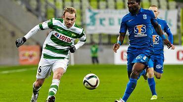 Lechia Gdańsk - Lech Poznań 0:1. Abdul Tetteh i Sebastian Mila