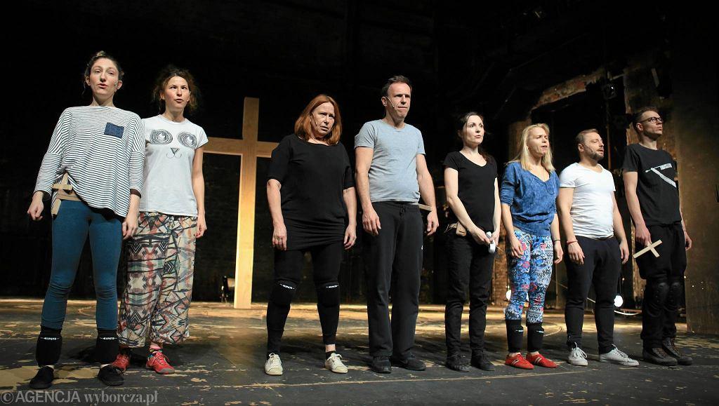 / 10.02.2017 Warszawa . Teatr Powszechny . Spektakl Klątwa Fot. Jacek Marczewski / Agencja Gazeta