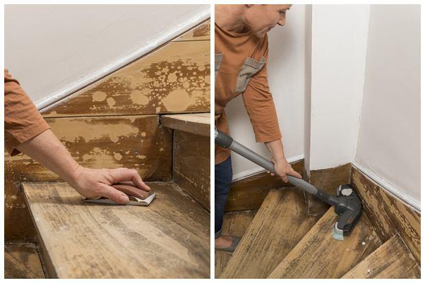 Renowacja schodów krok po kroku