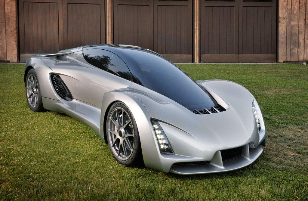 Blade - pierwsze auto wydrukowane w technologii 3D