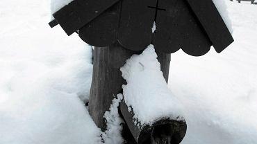Źródełko św. Franciszka w zimowej szacie