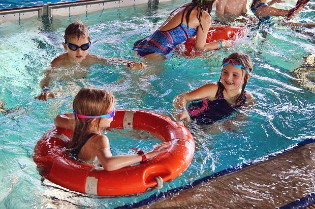 Zajęcia dla dzieci podczas ferii we wrocławskim aquaparku