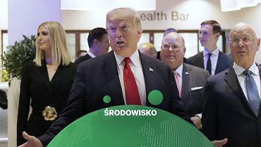 Donald Trump na Światowym Forum Ekonomicznym w Davos