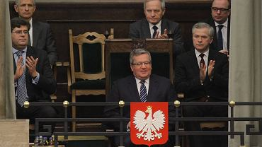 Bronisław Komorowski w Sejmie