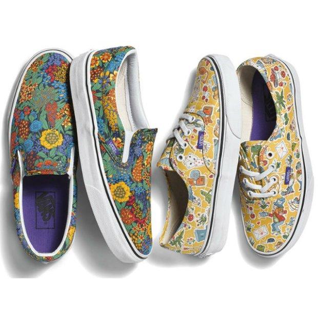 Vans x Liberty Art Fabrics: nowe modele kultowych butów