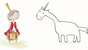Ilustracje z książki 'Mała księżniczka'