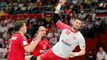 Polska - Rosja 26:25. Rzuca Piotr Grabarczyk