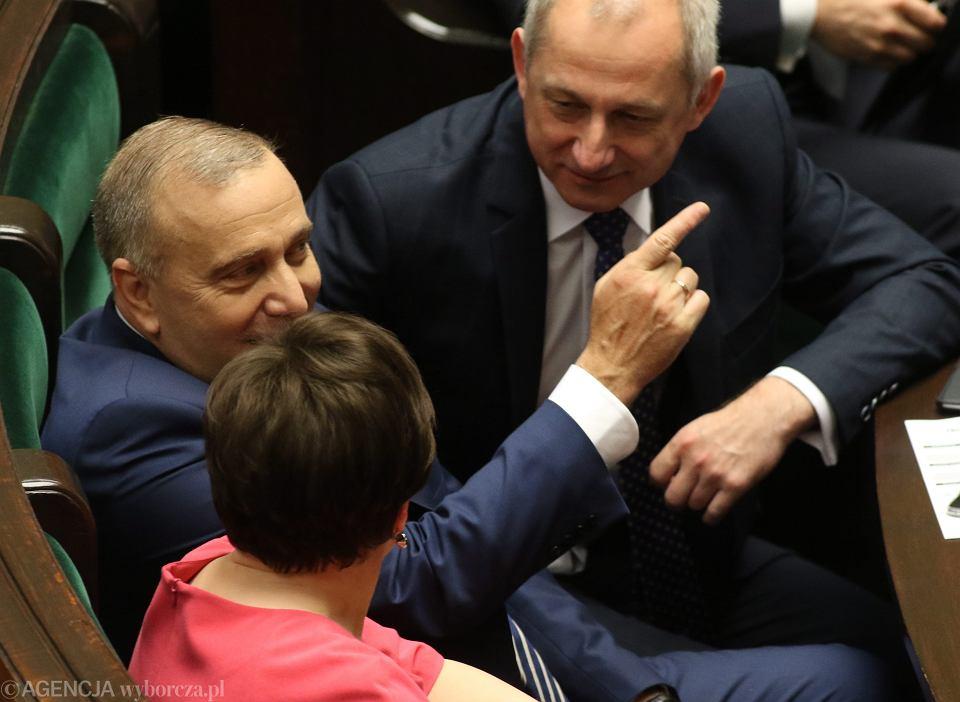 Grzegorz Schetyna, Ewa Kopacz i Sławomir Neumann