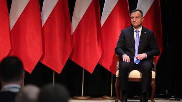 Andrzej Duda niczym