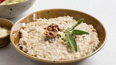 Risotto z gruszką i gorgonzolą to dobry pomysł na walentynkowy obiad