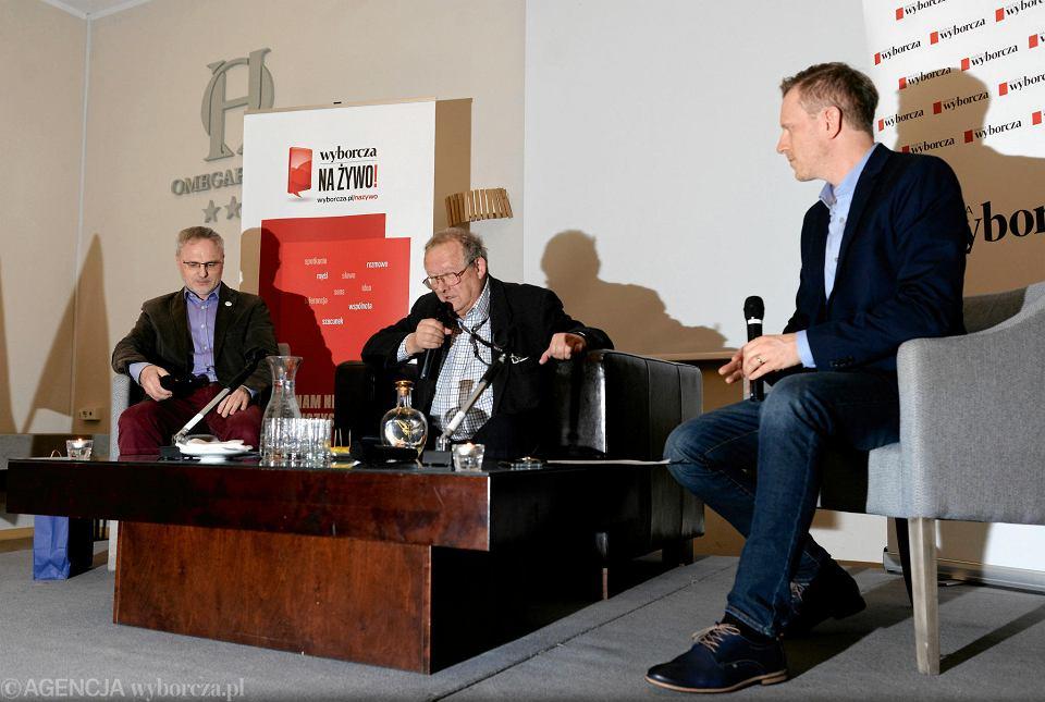 Spotkanie z Adamem Michnikiem w Olsztynie w cyklu Wyborcza na żywo