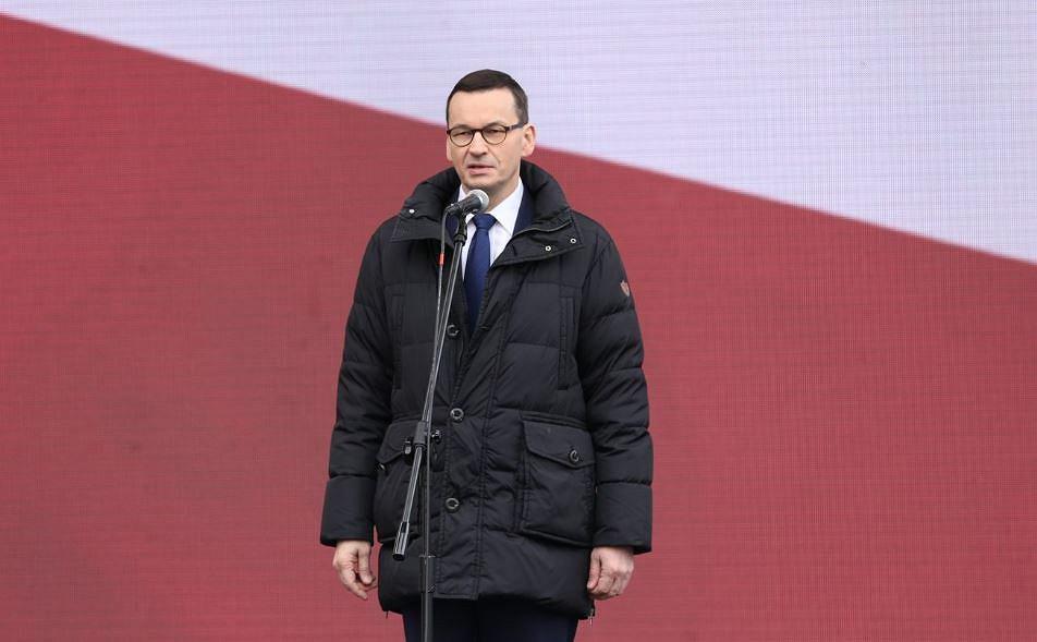 Mateusz Morawiecki podczas Narodowego Dnia Pamięci Żołnierzy Wyklętych