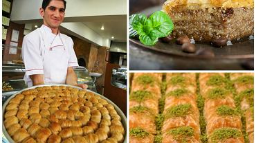 Smak Turcji: baklawa (bakława) / fot. Shutterstock, kolaż Gazeta.pl