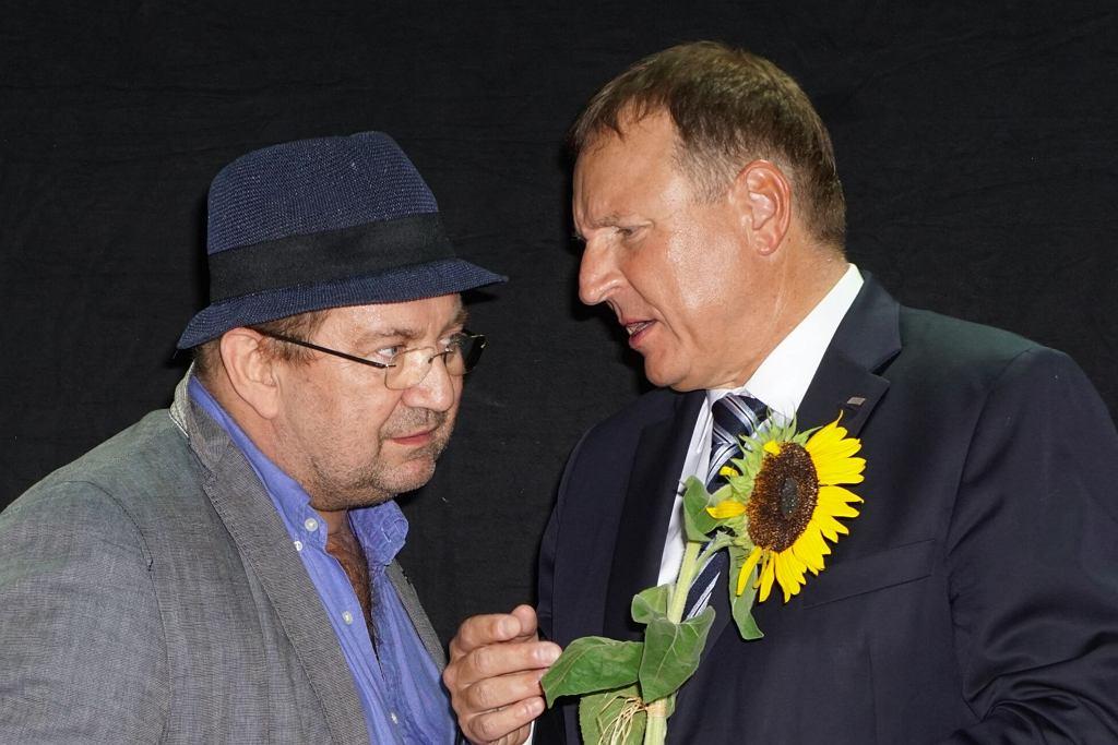 Paweł Królikowski i Jacek Kurski