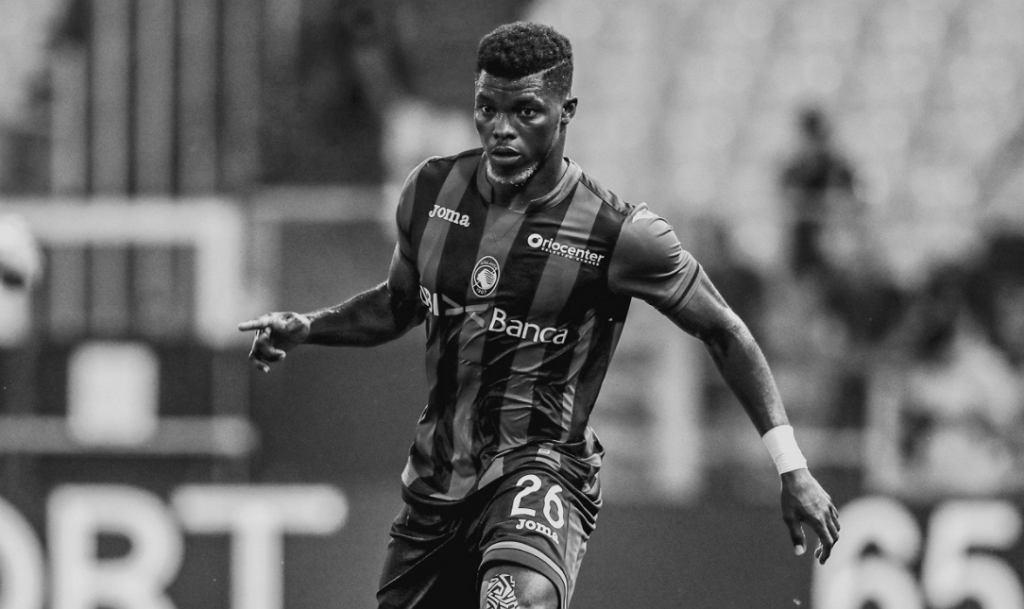Willy Ta Bi, 21-letni piłkarz Atalanty Bergamo, który zmarł na nowotwór wątroby. Źródło: Twitter (Atalanta Bergamo)