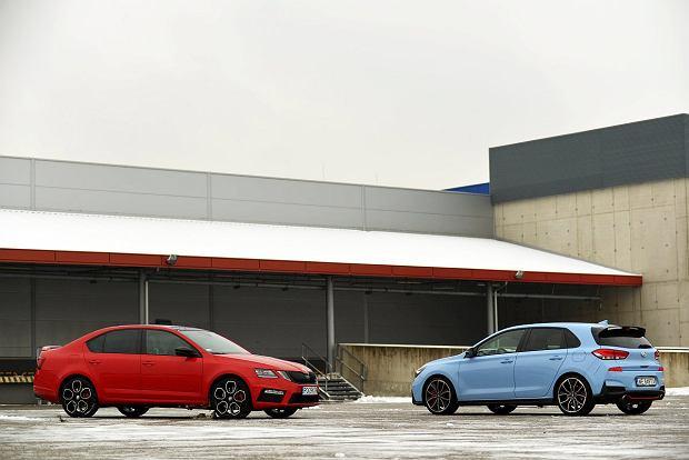Skoda Octavia RS vs. Hyundai i30 N