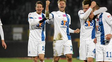 Piłkarze Lecha znów mieli powody do radości po meczu z Pogonią
