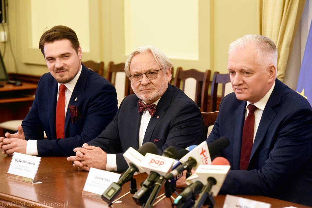 Michał Wypij, Wojciech Maksymowicz, Jarosław Gowin