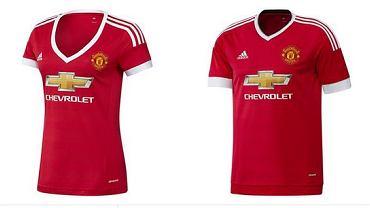 Koszulki Adidasa dla Manchesteru United