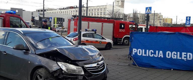 Łódź. Pijany 46-latek zlekceważył czerwone światło. Zginęła pasażerka
